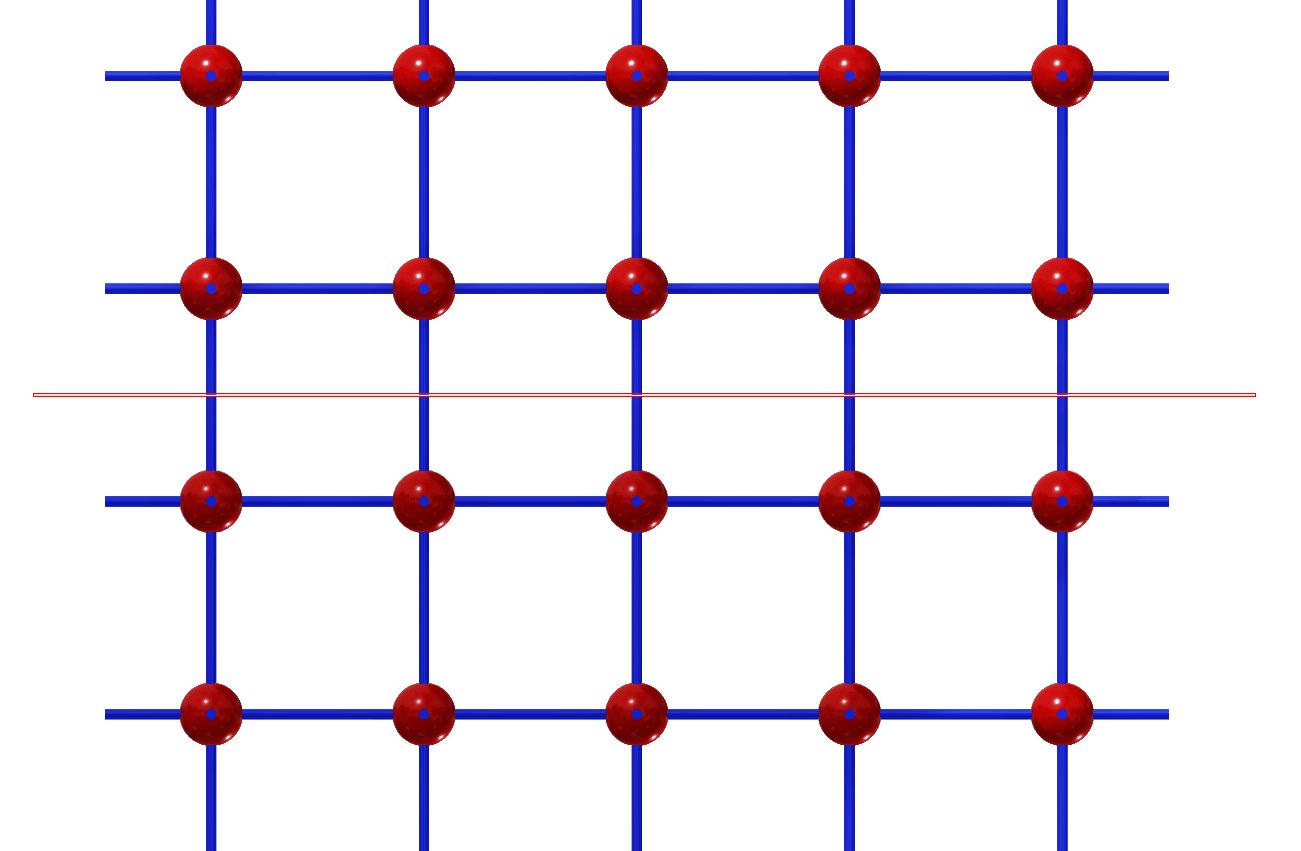 slip plane in 2D weergave
