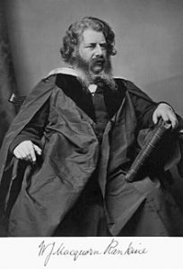 Schotse ingenieur William John Macquorn Rankine (1820 - 1872) ontdekker van materiaalmoeheid